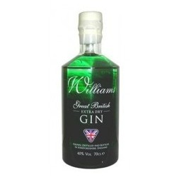 WILLIAMS EXTRA DRY GIN 70 CL. 40º