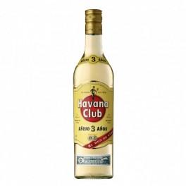 HAVANA CLUB 3YO 70 CL.